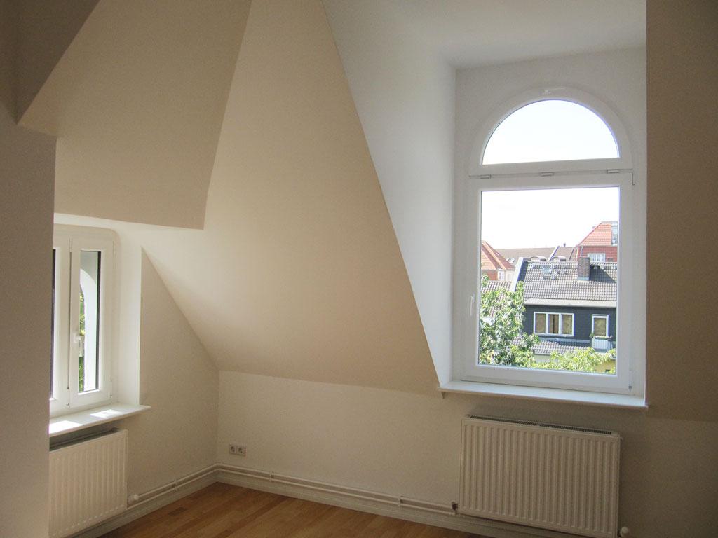 Dachgeschoss Sanierung