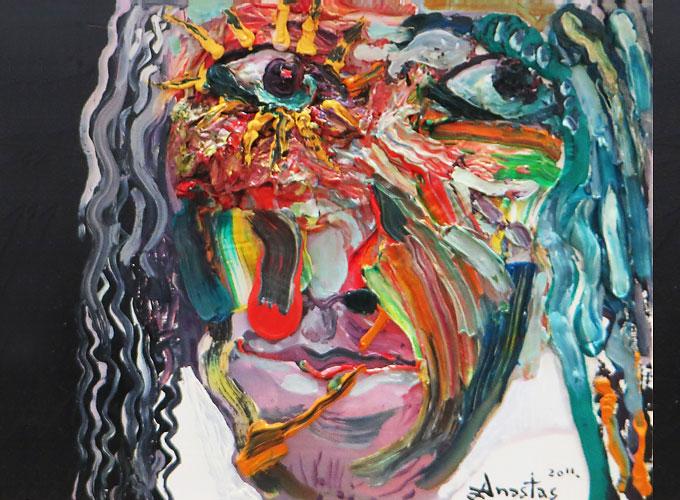Anastas Konstantinov Malerei